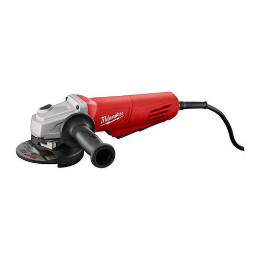 Factory Reconditioned Milwaukee 6146-830 4-1/2 in. 11.0 Amp Paddle Switch Grinder with Lock-On Button and Electronic Clutch