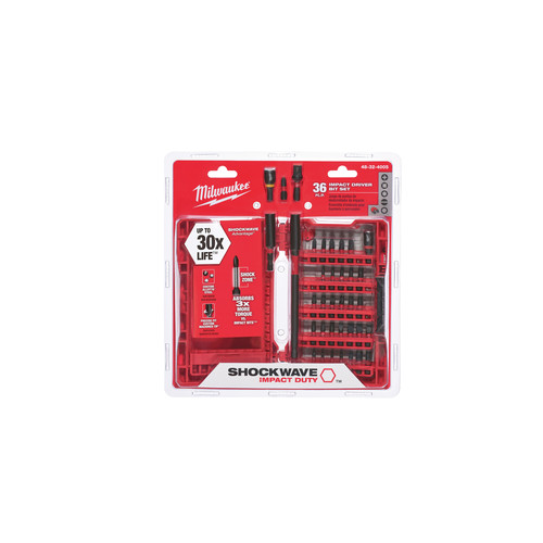 Milwaukee 48-32-4005 SHOCKWAVE 36 Pc Impact Driver Bit Set image number 2