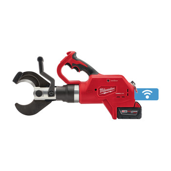 Milwaukee 2776-21 M18 18V 5.0 Ah Cordless Lithium-Ion FORCE LOGIC 3 in. Underground Cable Cutter Kit with ONE KEY image number 2
