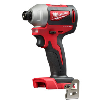 Factory Reconditioned Milwaukee 2850-80 M18 Compact Brushless 1/4 in. Hex Impact Driver (Tool Only)