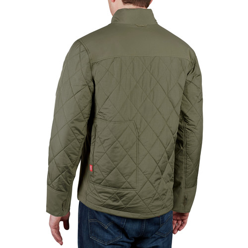 Milwaukee 203OG-20L M12 Heated AXIS Jacket (Jacket Only) - Olive Green, Large image number 7
