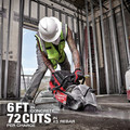 Milwaukee MXF314-2XC MX FUEL Brushless Lithium-Ion 14 in. Cordless Cut-Off Saw Kit (6 Ah) image number 8