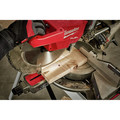 Milwaukee 2739-20 M18 FUEL Cordless Lithium-Ion 12 in. Dual Bevel Sliding Compound Miter Saw (Tool Only) image number 6