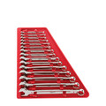 Milwaukee 48-22-9415 15 Pc Combination Wrench Set - SAE image number 0