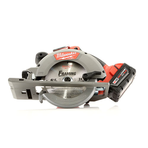Milwaukee 2730 21 m18 fuel 18v cordless 6 1 2 in circular saw with milwaukee 2730 21 m18 fuel 18v cordless 6 12 in circular saw with redlithium battery greentooth Image collections