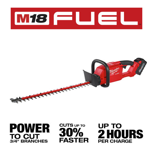 Milwaukee 2726-21HD M18 FUEL 24 in. Dual Action Hedge Trimmer Kit image number 3