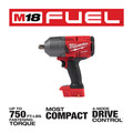Milwaukee 2766-20 M18 FUEL High Torque 1/2 in. Impact Wrench with Pin Detent (Tool Only) image number 2