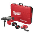 Milwaukee 2717-22HD M18 FUEL 8.0 Ah Cordless Lithium-Ion 1-9/16 in. Rotary Hammer Kit with 2 Batteries image number 0