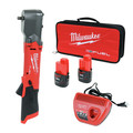 Milwaukee 2564-22 M12 FUEL Lithium-Ion 3/8 in. Cordless Right Angle Impact Wrench Kit with Friction Ring (2 Ah) image number 0