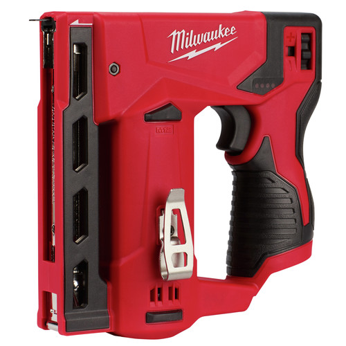 Factory Reconditioned Milwaukee 2447-80 M12 3/8 in. Crown Stapler (Tool Only) image number 0