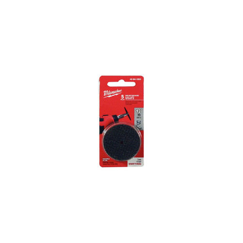 Milwaukee 49-94-1500 1-1/2 in. x .045 in. x 7/8 in. Cutting Wheel for 2460-20 (5-Pack)