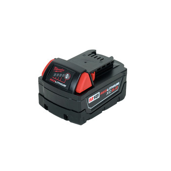 Milwaukee 2729-22 M18 FUEL Cordless Lithium-Ion Deep Cut Band Saw with 2 XC 5.0 Ah Batteries image number 4