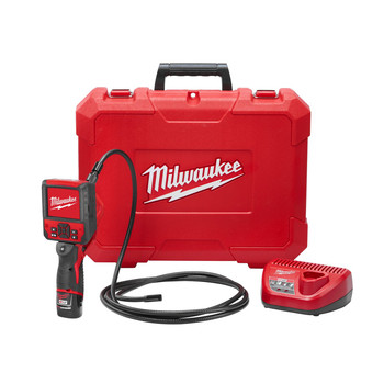 Milwaukee 2316-21 M12 1.5 Ah Cordless Lithium-Ion M-SPECTOR FLEX 9 ft. Inspection Camera Cable Kit