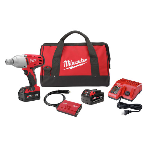 Factory Reconditioned Milwaukee 2665-82 M18 18V Cordless 7/16 in. Lithium-Ion High Torque Impact Wrench