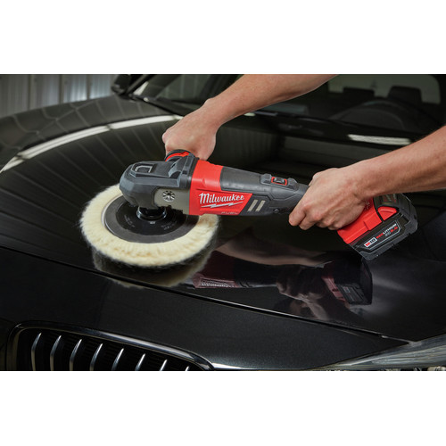 Milwaukee 2738-22 M18 FUEL Lithium-Ion 7 in. Variable Speed Polisher Kit image number 6
