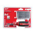 Milwaukee 48-22-2134 9-in-1 SAE HEX/KEY Drive Multi-bit Driver image number 4