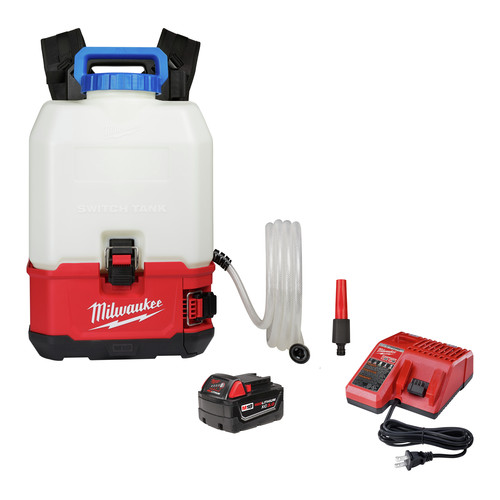Milwaukee 2820-21WS M18 SWITCH TANK 4-Gallon Backpack Water Supply Kit image number 0
