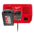 Milwaukee 48-59-1802 M18 Dual Bay Simultaneous Rapid Lithium-Ion Charger image number 10