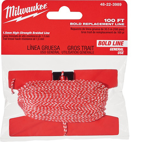 Milwaukee 48-22-3989 100 ft. Bold Replacement Line