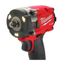 Milwaukee 2854-22CT M18 FUEL Lithium-Ion Brushless Compact 3/8 in. Cordless Impact Wrench Kit with Friction Ring (2 Ah) image number 12