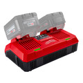 Milwaukee 48-59-1802 M18 Dual Bay Simultaneous Rapid Lithium-Ion Charger image number 4