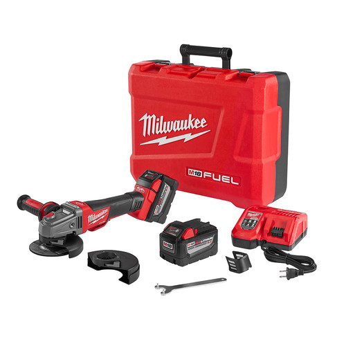 Milwaukee 2783-22HD M18 FUEL 5 in. Braking Ginder Kit with No-Lock Paddle Switch