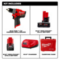 Milwaukee 2504-22 M12 FUEL Lithium-Ion 1/2 in. Cordless Hammer Drill Kit (2 Ah / 4 Ah) image number 13