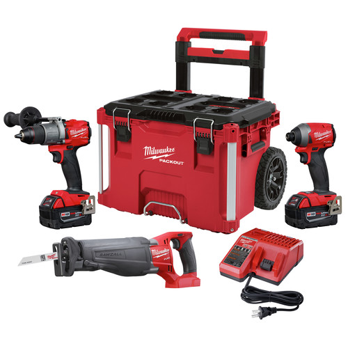 Milwaukee 2997-23SPO M18 FUEL 2-Piece Combo Kit with SAWZALL & PACKOUT image number 0
