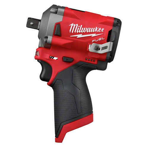 Milwaukee 2555P-20 M12 FUEL Stubby 1/2 in. Impact Wrench with Pin Detent (Tool Only) image number 0
