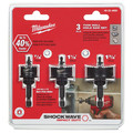 Milwaukee 49-22-4800 3-Piece Shockwave Impact-Duty Thin Wall Hole Saw Set image number 2