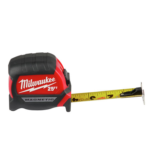 48-22-6625 25/' General Contractor Tape Measure USED Milwaukee