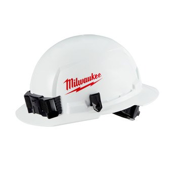 Milwaukee 48-73-1030 Full Brim Hard Hat with BOLT Accessory System - Type 1 Class E