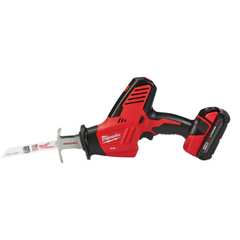 Milwaukee 2625-21CT M18 Lithium-Ion Hackzall Reciprocating Saw with Compact Lithium-Ion Battery image number 1