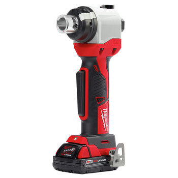Milwaukee 2935AL-21 M18 Cordless Lithium-Ion Cable Stripper Kit for Aluminum THHN / XHHW (1.5 Ah) image number 1