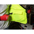 Milwaukee 48-73-5041 High Visibility Performance Safety Vest - Small/Medium, Yellow image number 8