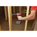 Milwaukee 2697-22PO M18 Compact Lithium-Ion 1/2 in. Cordless Hammer Drill/1/4 in. Cordless Hex Impact Driver Combo Kit (3 Ah) with PACKOUT Tool Box image number 7