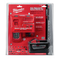 Milwaukee 48-59-1890 M18 REDLITHIUM HIGH DEMAND HD 9 Ah Lithium-Ion Battery and M18/M12 Charger Kit image number 3