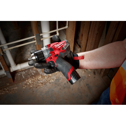 Milwaukee 2503-22 M12 FUEL Lithium-Ion 1/2 in. Cordless Drill Driver Kit (4 Ah) image number 11