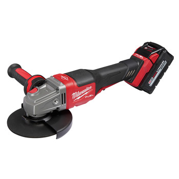 Milwaukee 2980-21 M18 FUEL 4-1/2 in. - 6 in. Braking Grinder Kit with No-Lock Paddle Switch & (1) 6 Ah Li-Ion Battery image number 5