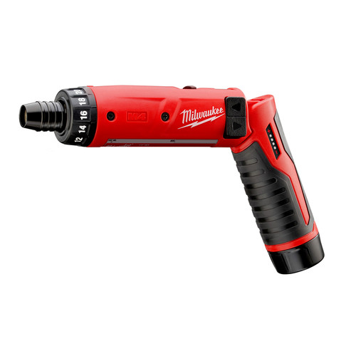 Milwaukee 2101-22 M4 4V Lithium-Ion 1/4 in. Hex Screwdriver Kit image number 1