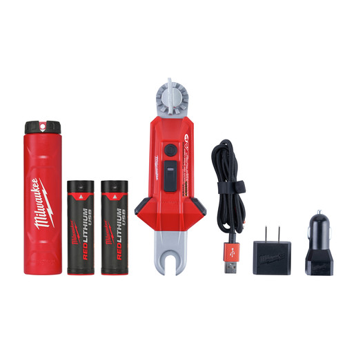 Milwaukee 2119-22 REDLITHIUM USB Rechargeable Utility Hot Stick Light image number 0