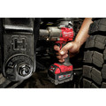 Milwaukee 2962P-20 M18 FUEL Lithium-Ion Brushless Mid-Torque 1/2 in. Cordless Impact Wrench with Pin Detent (Tool Only) image number 9