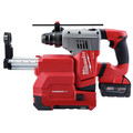 Milwaukee 2715-22DE M18 FUEL Lithium-Ion 1-1/8 in. SDS Plus Rotary Hammer and HAMMERVAC Dedicated Dust Extractor Kit image number 2