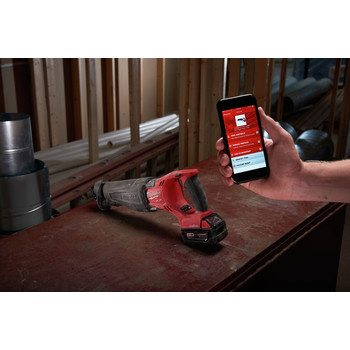 Factory Reconditioned Milwaukee 2721-82 M18 FUEL XC 5.0 Ah Cordless Lithium-Ion SAWZALL Reciprocating Saw Kit with ONE-KEY image number 5