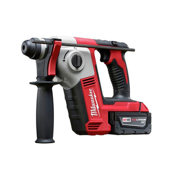 Milwaukee 2612-21 M18 Lithium-Ion 5/8 in. SDS-Plus Rotary Hammer Kit image number 0