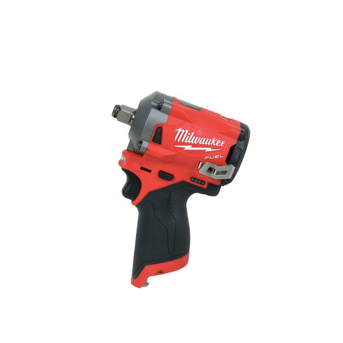 Milwaukee 2555-20 M12 FUEL Stubby 1/2 in. Impact Wrench with Friction Ring (Tool Only) image number 1