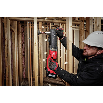 Milwaukee 2809-22 M18 FUEL SUPER HAWG Lithium-Ion 1/2 in. Cordless Right Angle Drill Kit (6 Ah) image number 4