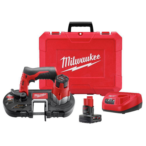 Milwaukee 2429-21XC M12 12V Cordless Lithium-Ion Sub-Compact Band Saw Kit with XC Battery image number 11