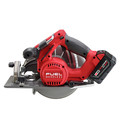 Factory Reconditioned Milwaukee 2731-82 M18 FUEL Cordless Lithium-Ion 7-1/4 in. Circular Saw Kit with 2 Batteries image number 3