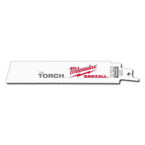 Milwaukee 48-00-5782 Torch Demo Blade 6 in. 14 TPI image number 0